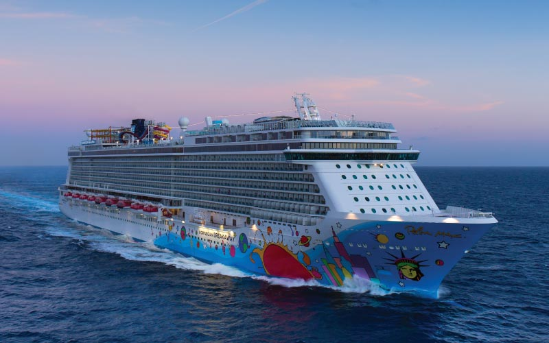 Connection with swinger for ncl cruise
