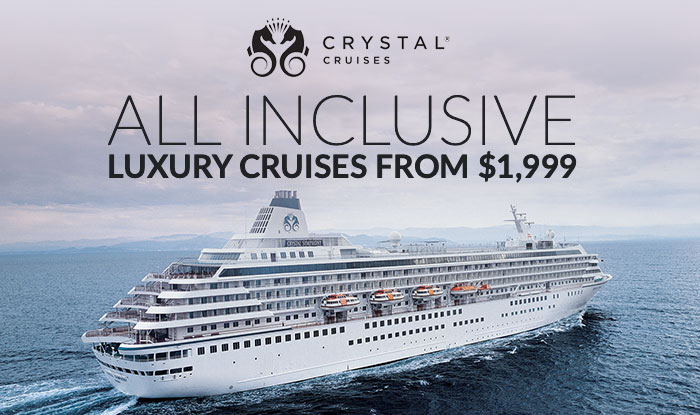 Crystal Cruises Holiday Extravaganza - Fares Increase January 1st