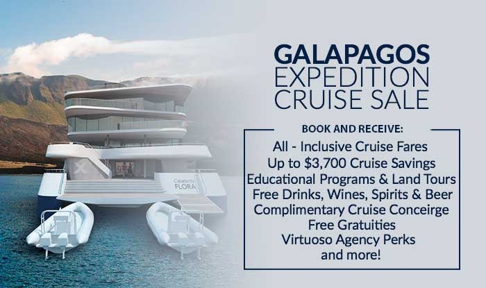 Galapagos Cruise Sale! Exclusive Savings, All inclusive experience