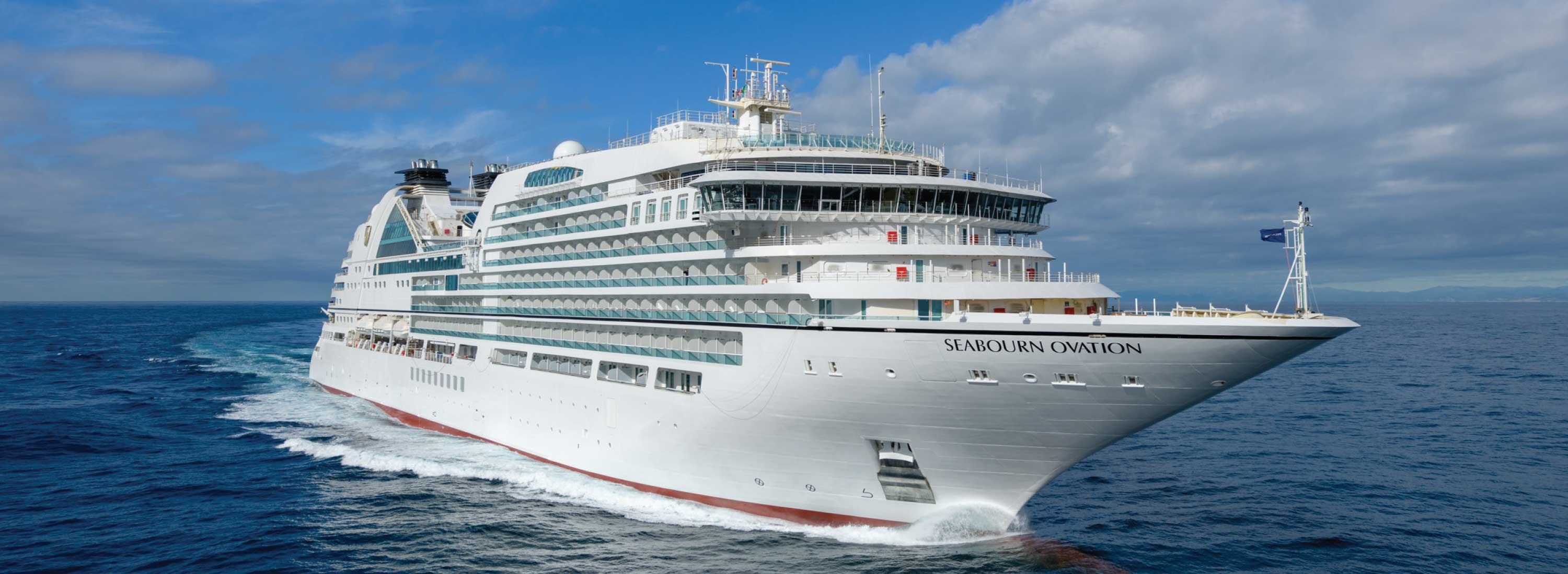Seabourn  - Free Roundtrip Business Class Air, Free Transfers and Up to $1,500 onboard credit.