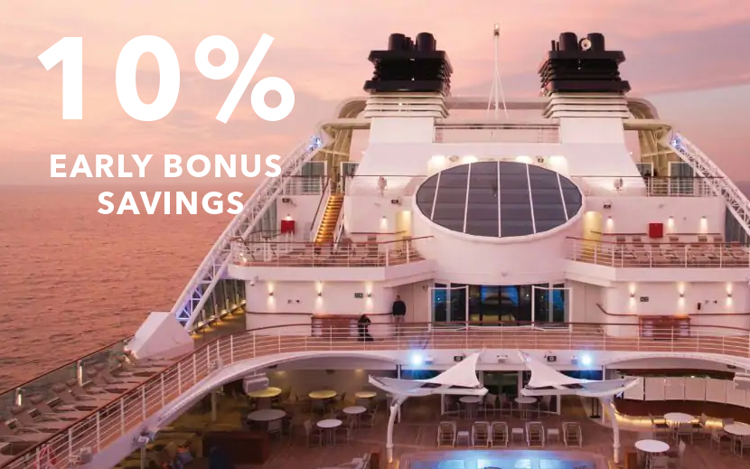 10% Early Bonus Savings with Silversea