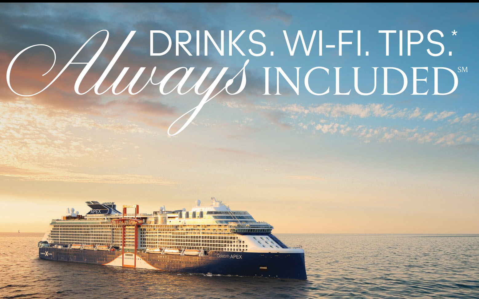 Celebrity - Drinks. Wi-FI.Tips.* Always Included
