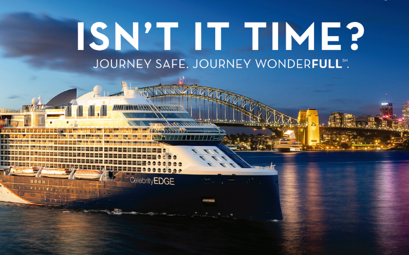 Discover the unexplored beauty of Australia and New Zealand landscapes with Celebrity Cruises