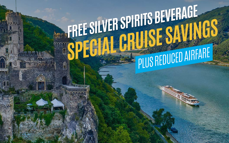 FREE Silver Spirits Beverage Package, Special Cruise Savings, plus Reduced Airfare