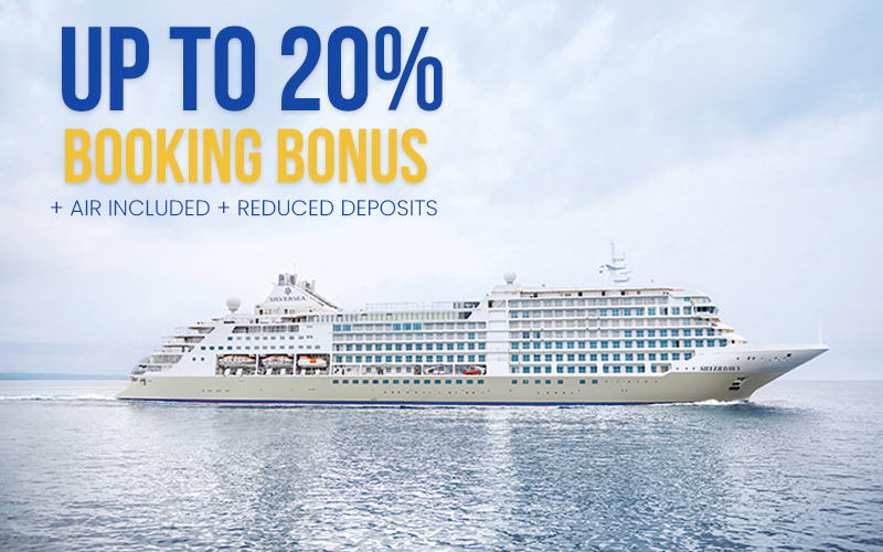Get Up to 20% Early Booking Bonus, Reduced Deposits plus Air Included*