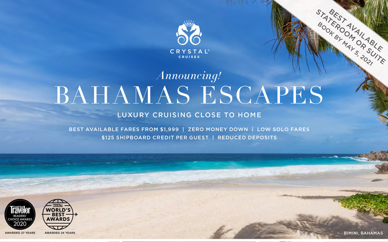 Limited availability to the Caribbean, $500 Book Now Savings and $500 Air Savings per guest