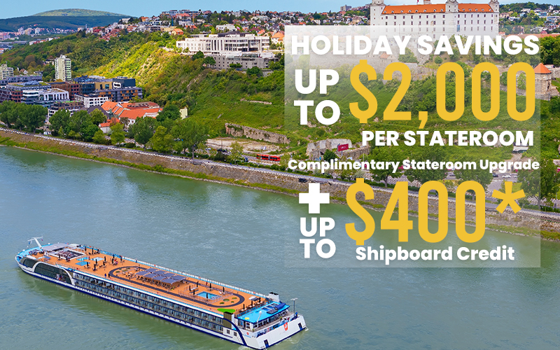 Limited time offer, Save up to $2,000 per stateroom, Complimentary Stateroom Upgrade plus Up to $400* Shipboard Credit
