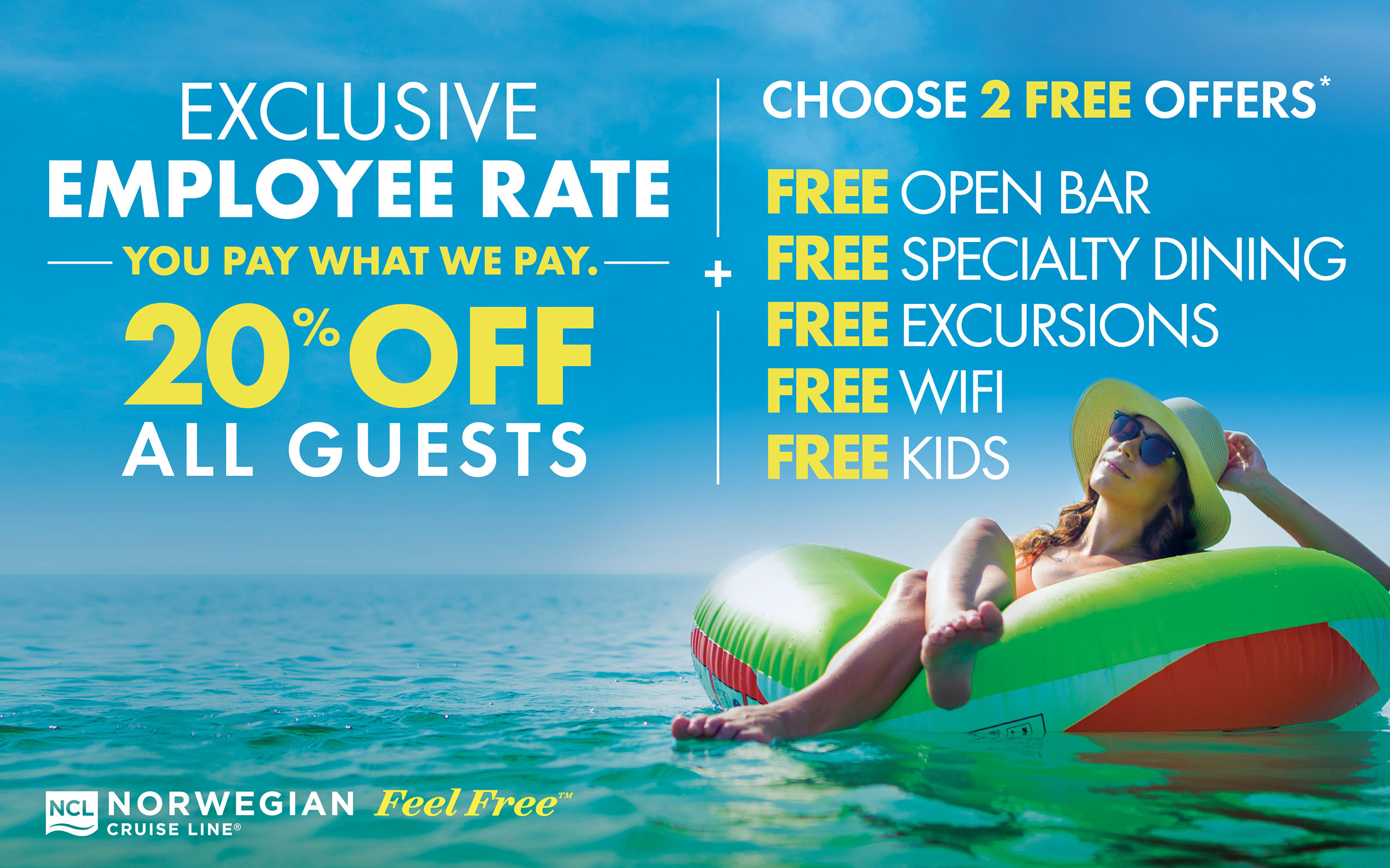 Norwegian - Get Up to 33% off all Guests