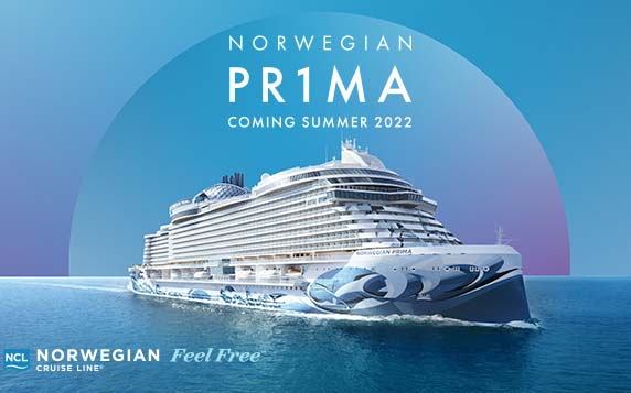 Norwegian Pr1ma - Coming Summer 2022