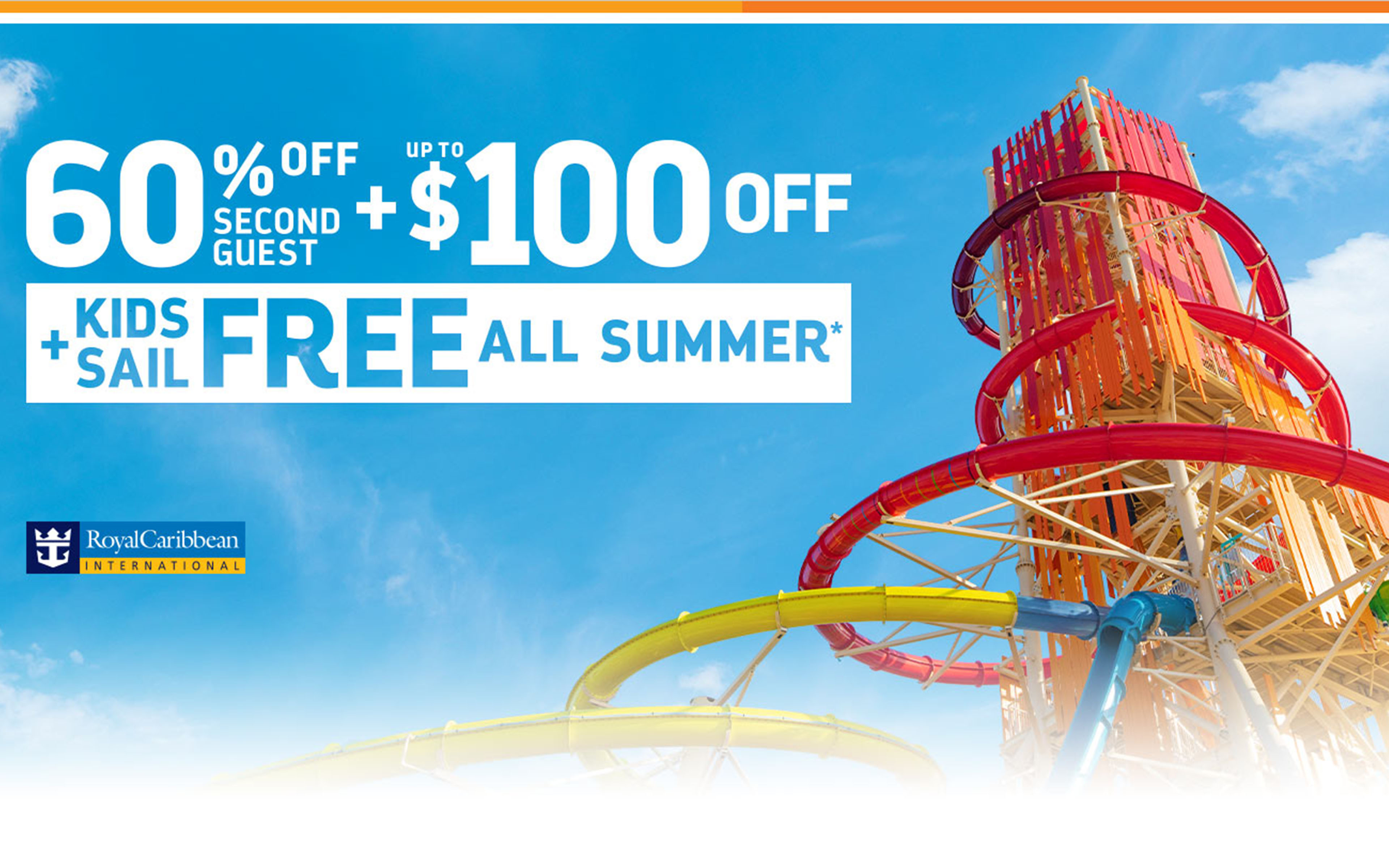 Royal Caribbean - 60% OFF Second Guest + Kids Sail Free + Up to $100 OFF