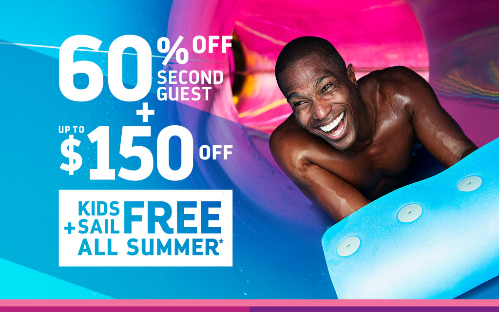 Royal Caribbean - 60% OFF Second Guest + Kids Sail Free + Up to $150 OFF