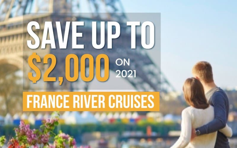 Save up to $2,000 on 2021 France River Cruises with AmaWaterways