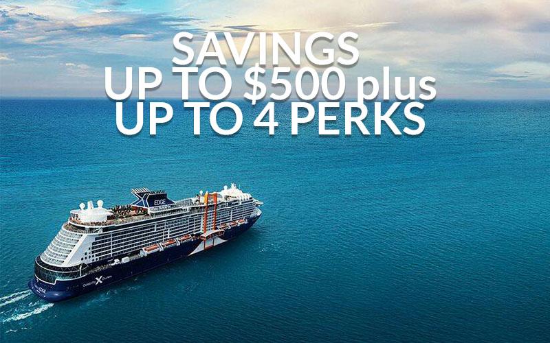Savings up to $500 + Four Free Perks