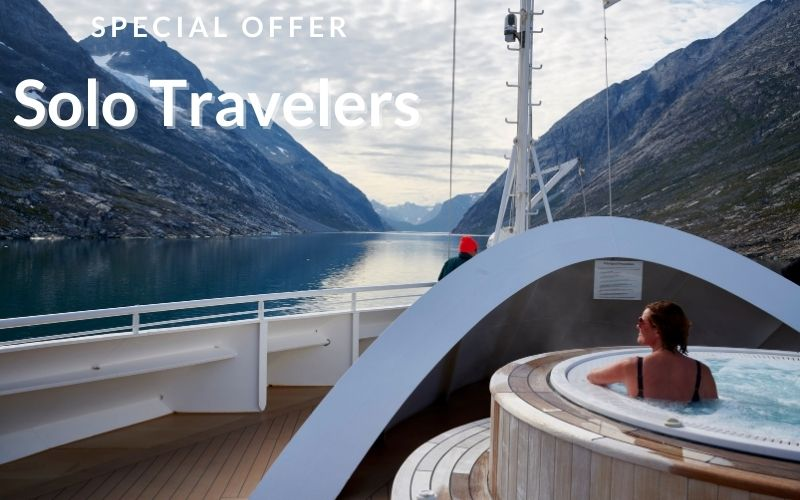Seabourn - SPECIAL OFFER FOR SOLO TRAVELERS