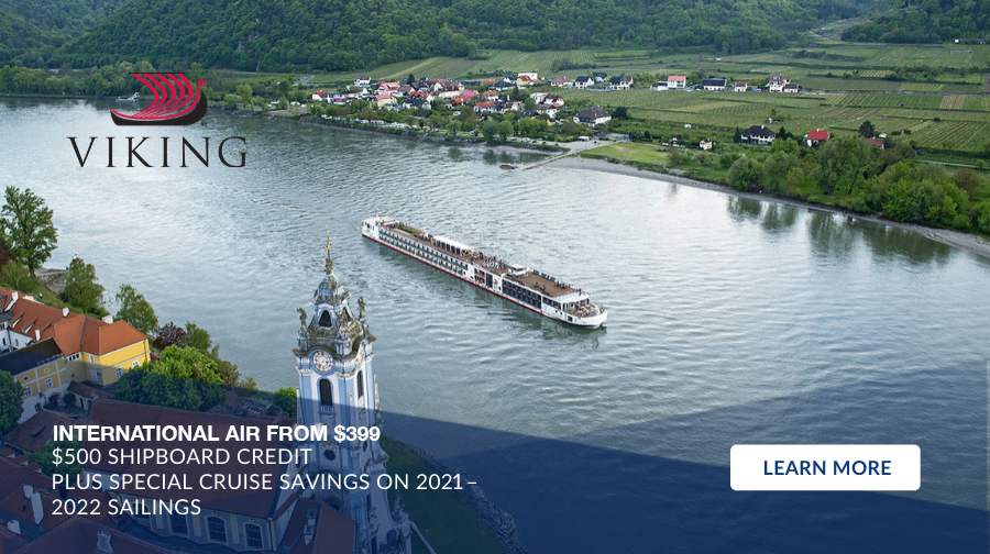 Special Cruise Savings, Up to $500 Shipboard Credit plus International Air from $399
