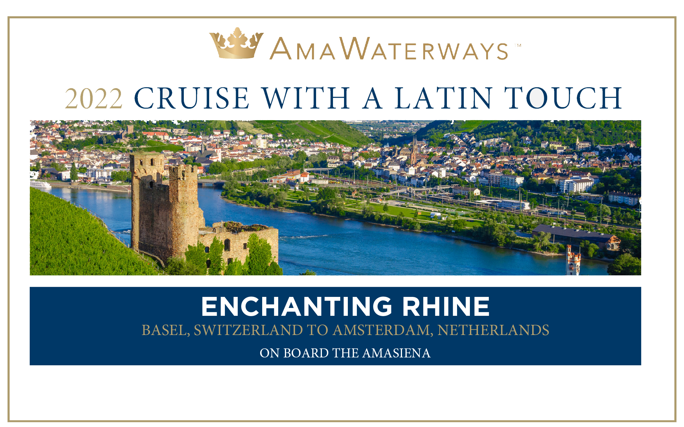 Travel with Ama Latin Tour and Get Up to $1,500 Cruise Savings, $100 Shipboard credit Per person, Prepaid Gratuities and More!