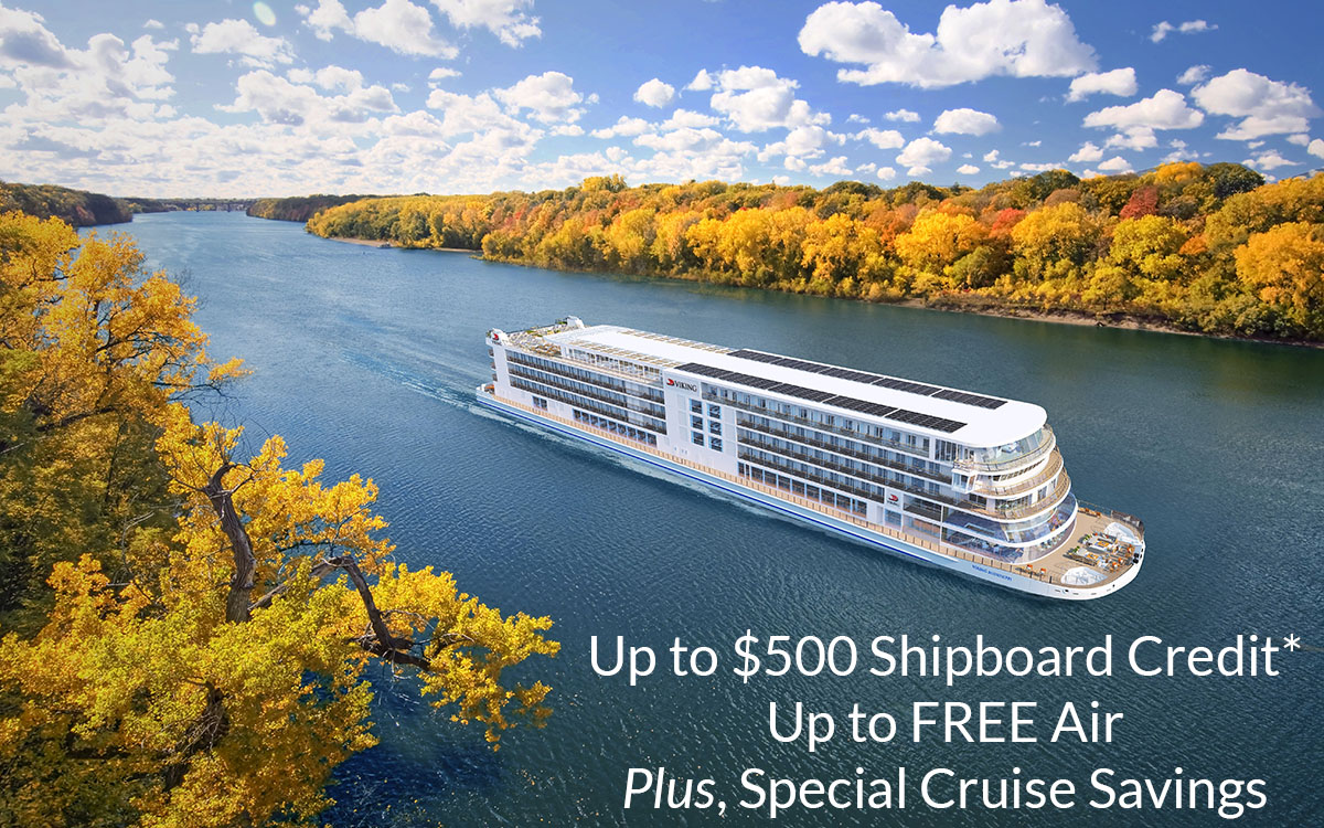 Up to $500 Shipboard Credit + FREE Air