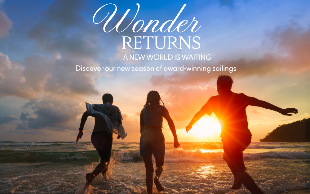 Wonder Returns- a new world is waiting. Discover our new season of award wining sailings CELEBRITY EDGE® — 2021 SUMMER EDGE CARIBBEAN
