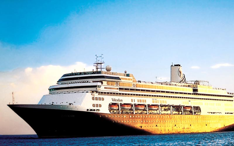 Holland America Asia Sailings