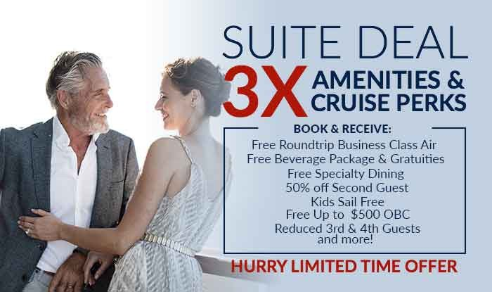 3X Perks When You Book a Suite