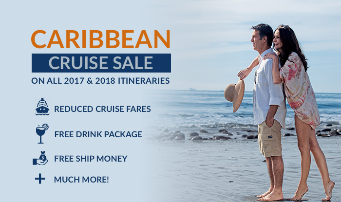 All Caribbean Cruises are on Sale!