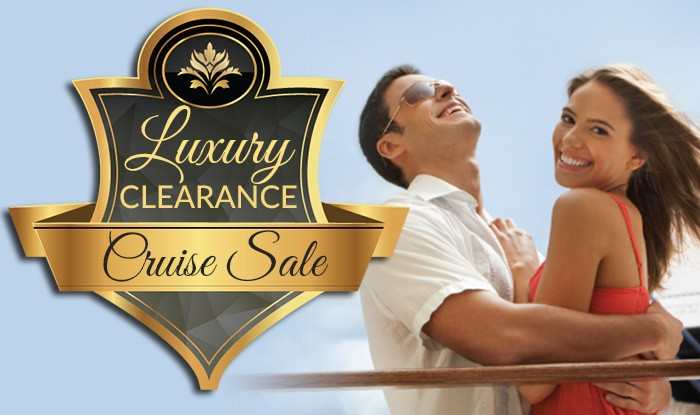 ALL LUXURY CRUISES ON SALE! UNBELIEVABLE SAVINGS AND BONUS PERKS