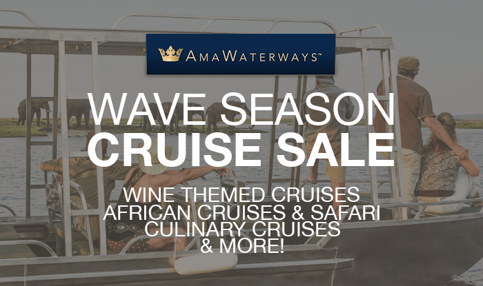 AmaWaterways Wave Season Cruise Sale
