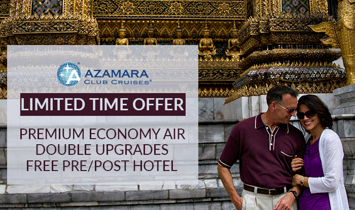 Azamara Cruise Sale - Give the Gift of Travel