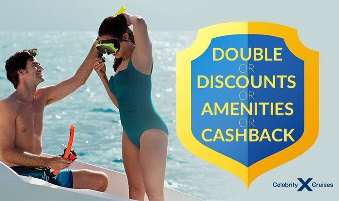 Celebrity Cruise Sale - Double Discounts or Double Amenities or Double Cash Back