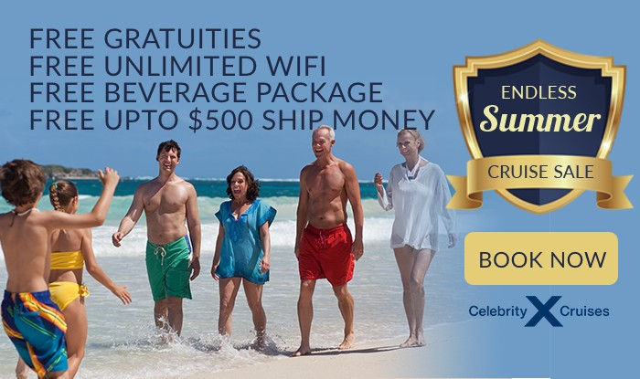 Celebrity Cruises Endless Summer Sale