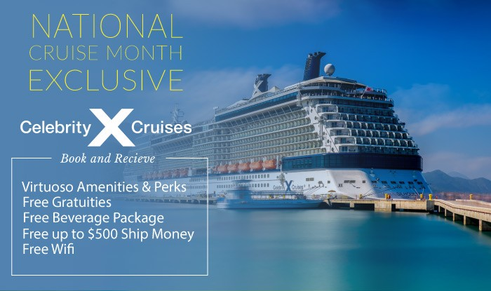 Celebrity Cruises National Cruise Month Sale
