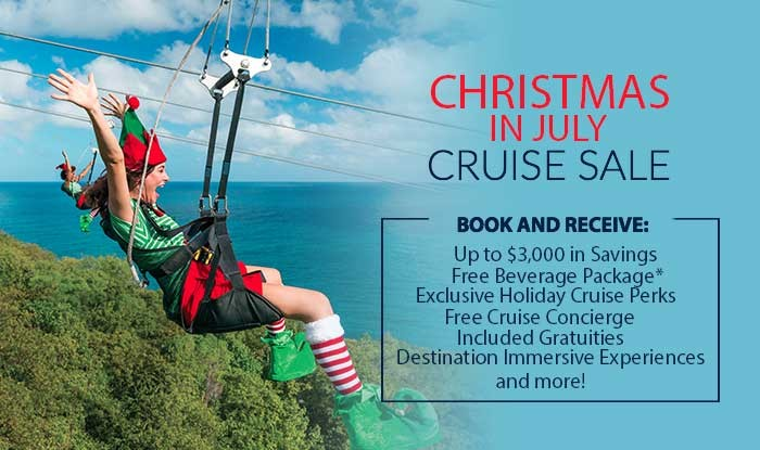 Christmas in July Cruise Sale