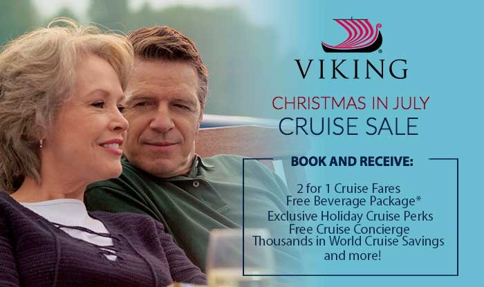 Christmas in July Viking Cruise Sale