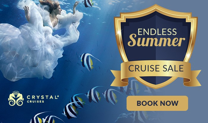 Crystal Cruises Endless Summer Cruise Sale