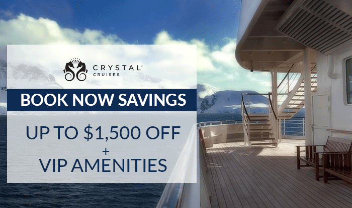 Crystal Cruises Sale - Give the Gift of Travel