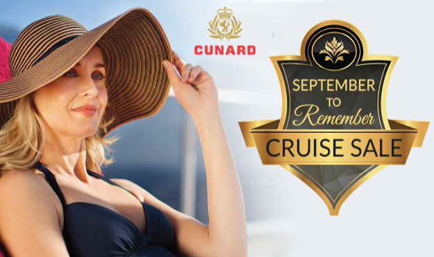 Cunard September to Remember Cruise Sale