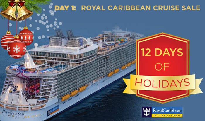 DAY 1: 12 DAYS OF CHRISTMAS ROYAL CARIBBEAN CRUISE SALE