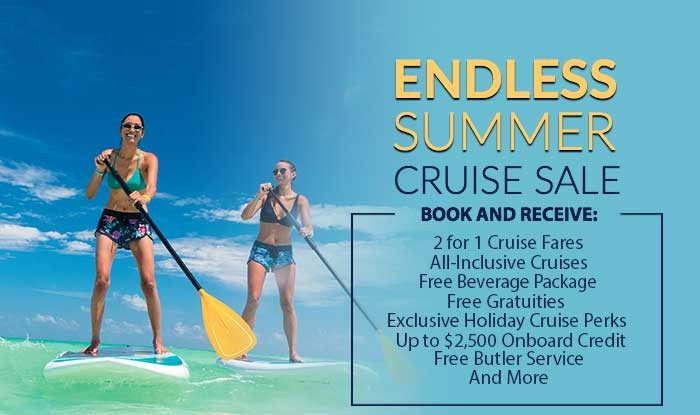 Endless Summer Cruise Sale - All Voyages on Sale
