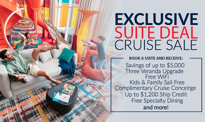 Endless Summer Suite Deal Cruis Sale!