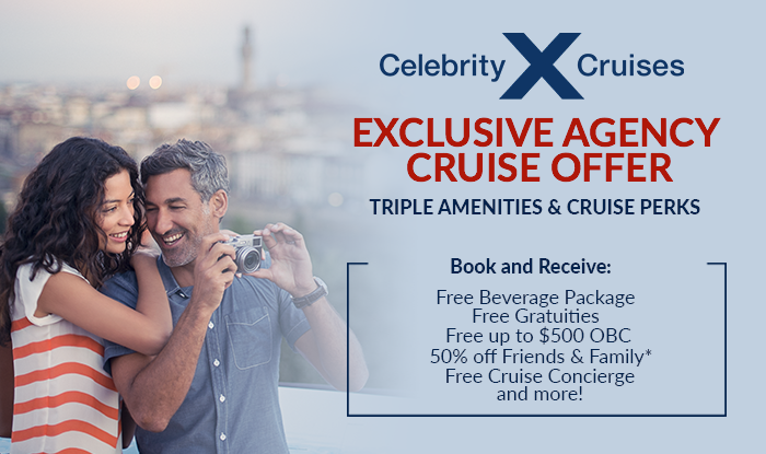 Exclusive Celebrity Cruise Offer