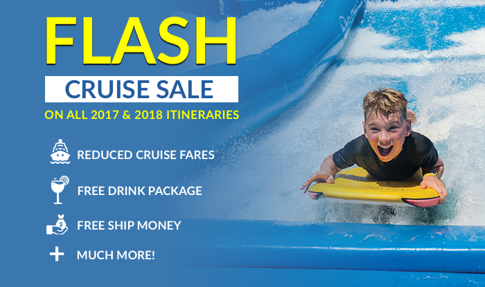 Flash Cruise Sale - Inventory Reduction & Liquidation