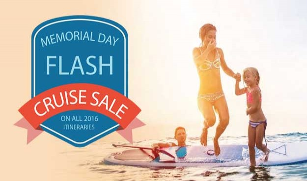 FLASH SALE ALERT! Double Amenities and perks on All last minute cruises