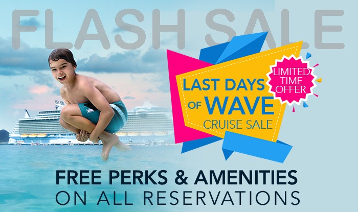FLASH SALE! LAST CHANCE TO RECEIVE WAVE SEASON AMENITIES