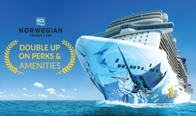 FREE AT SEA! DOUBLE UP ON PERKS & AMENITIES ON YOUR NEXT NORWEGIAN CRUISE