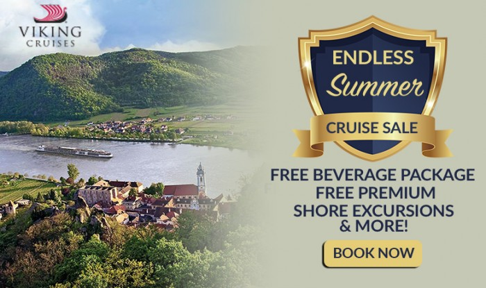 Free Beverage Packages or Free Premium Shore Excursions on all Viking Cruises!