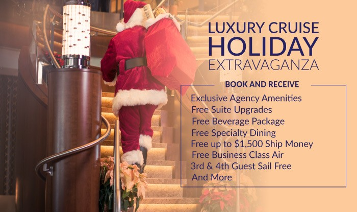 HOLIDAY EXTRAVAGANZA LUXURY CRUISE SALE