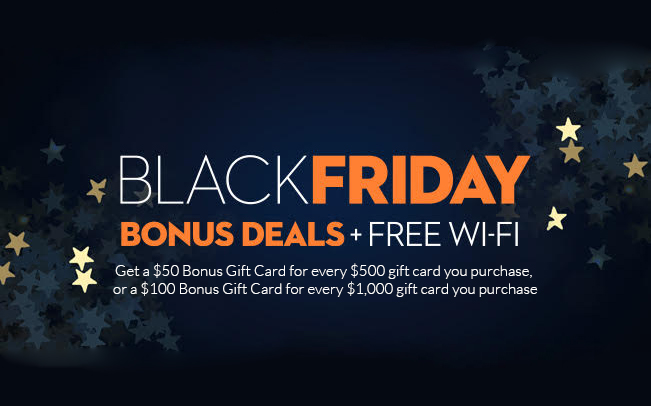 Holland - Black Friday Bonus Deals + FREE Wi-FI
