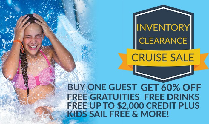 INVENTORY CLEARNANCE! ALL CRUISES ON SALE