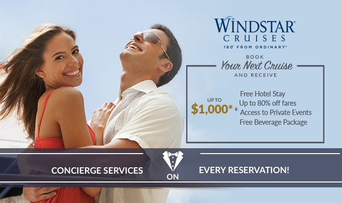 Inventory Reduction & Liquidation Sale On Windstar Cruises
