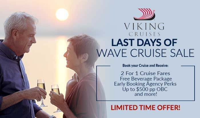 Last Chance! 3 Day Viking Cruise Sale